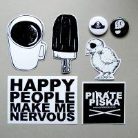 PiratePiska Nalepke 1