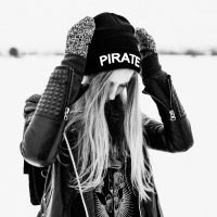 PiratePiska Winter Skull Kapa