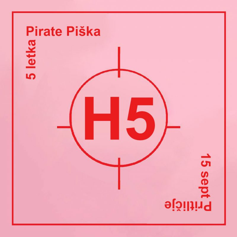 Pirate Piška - dogodek za 5letko
